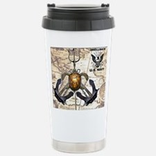 US Navy Shellback Travel Mug