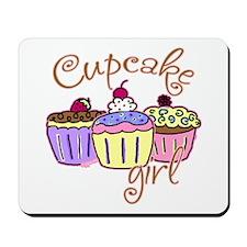 Cupcake Girl Mousepad