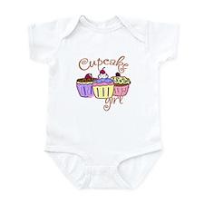 Cupcake Girl Onesie
