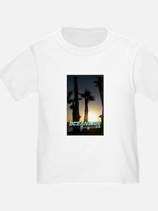 Oceanside sunset T-Shirt