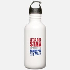 Lets Get Star Spangled Hammered Yall VINTAGE Water