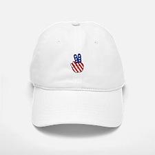 Peace USA Flag-01 Baseball Baseball Baseball Cap