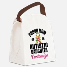 Autism Mom Canvas Lunch Bag