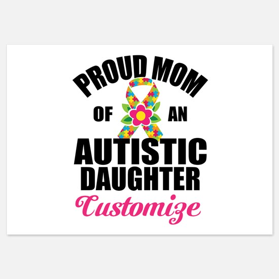 Autism Mom 5x7 Flat Cards