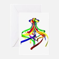 Maypole Greeting Cards