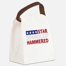 Star Spangled Hammered-01-01 Canvas Lunch Bag