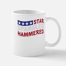 Star Spangled Hammered USA-01 Mugs