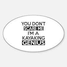 I Am Kayaking Genius Decal