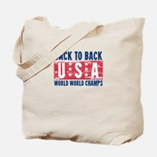 USa Back to Back World War Champs-01 Tote Bag