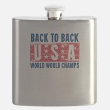 USa Back to Back World War Champs-01 Flask