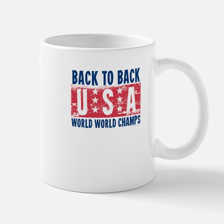 USa Back to Back World War Champs-01 Mugs