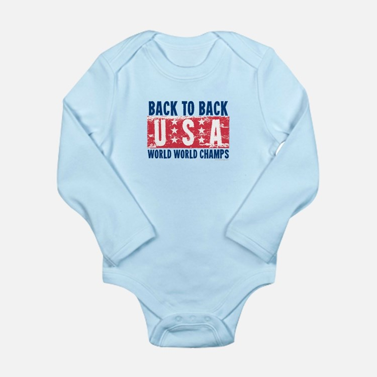USa Back to Back World War Champs-01 Body Suit
