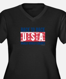 USa Back to Back World War Champs-01 Plus Size T-S