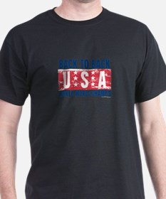 USa Back to Back World War Champs-01 T-Shirt