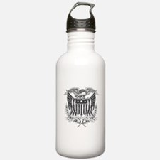 Back To Back World War Champs USA Water Bottle