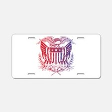 United We Stand USA 4th of July-01 Aluminum Licens