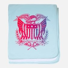 United We Stand USA 4th of July-01 baby blanket