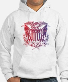 United We Stand USA 4th of July-01 Hoodie