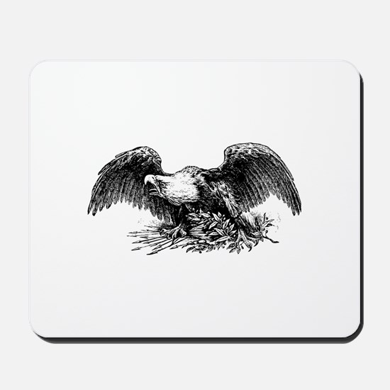 American War Eagle Mousepad