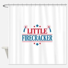 4th of July, Little Firecracker Shower Curtain