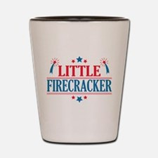 4th of July, Little Firecracker Shot Glass