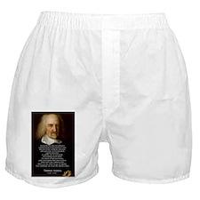 Thomas Hobbes: War Boxer Shorts
