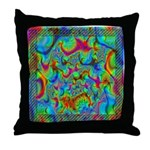 Fractal C~03 Throw Pillow (18