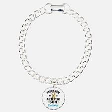 Autism Mom Charm Bracelet, One Charm