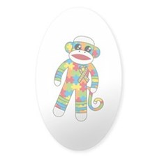 Autism Monkey Decal