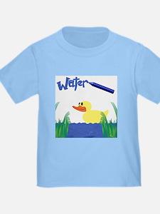 Water Duck Toddler Tee