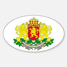 Bulgaria arms Oval Decal