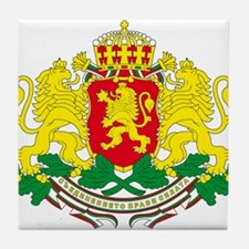 Bulgaria arms Tile Coaster