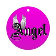Angel Ornament w/ ribbon