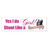 Girls guns Stickers & Flair