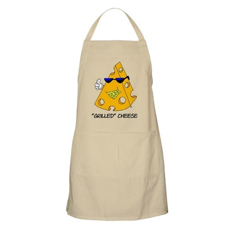 Grilled Swiss Cheese BBQ Apron