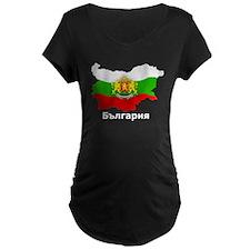 Bulgaria flag map T-Shirt