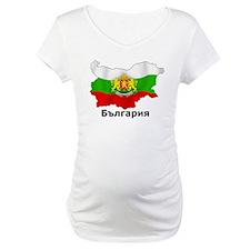 Bulgaria flag map Shirt