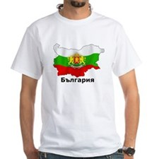 Bulgaria flag map Shirt
