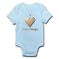 I Love San Diego #8 Infant Bodysuit