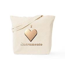 I Love Sacramento #8 Tote Bag