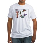1930's Snow Fun #1 Fitted T-Shirt