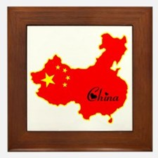 Cool China Framed Tile