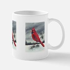 Cardinal on Pine Mug