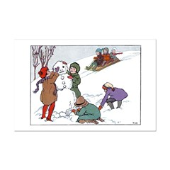 1930's Snow Fun #1 Posters