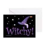 Witchy Hat Greeting Cards (Pk of 20)