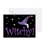 Witchy Hat Greeting Cards (Pk of 10)