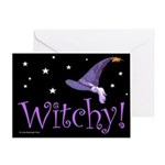 Witchy Hat Greeting Card