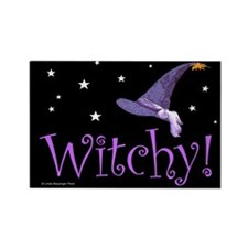 Witchy Hat Rectangle Magnet