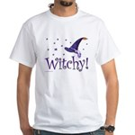 Witchy Hat White T-Shirt