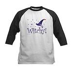 Witchy Hat Kids Baseball Jersey